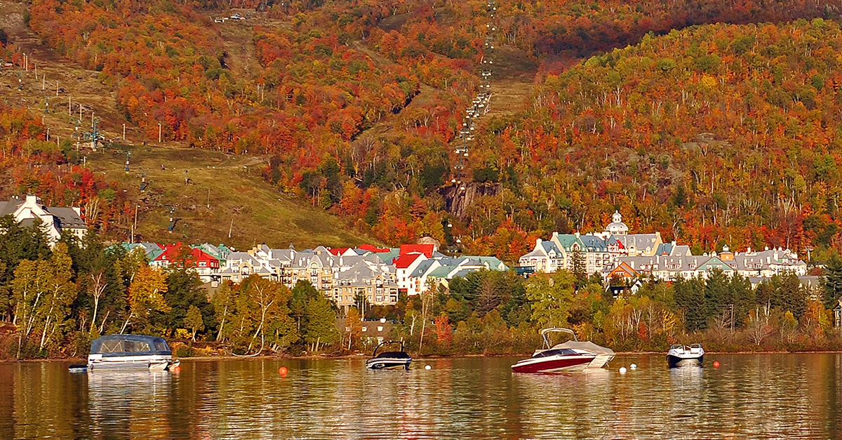 Tremblant… 3 destinations en une !